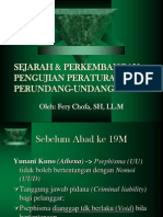 Sejarah & Perkembangan P_u_u