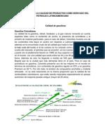 Comparacion de La Calidad de Productos Como Derivado Del Petroleo Latinoamericano
