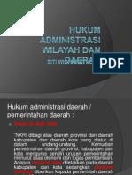 Hukum Administrasi Wilayah Dan Daerah