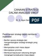 Perencanaan Strategi Dalam Analisis Swot