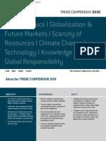 Trend Compendium 2030