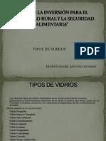 Año de la Inversión para el Desarrollo diapositiva tipo de vidrios (1)