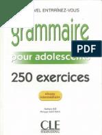 Manual Franceza Grammaire