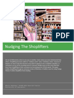 Nudging the Shoplifters, Dhruv Sharma