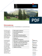 Lantsch/Lenz GR, Ortsplanungsrevision Tschividains durch die HMQ AG