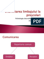 Limbaj.prescolar