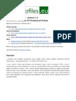 G3 Web SkillG3 Web skills profiles - versione 1.0 Generation 3 European ICT Professional Profiless Profiles