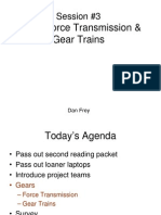 Gears-Force Transmission and Gear Train-paper