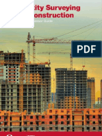 Quantity Surveying and Construction Assessor Guide