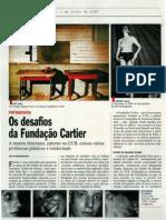 Flashes, Fundação Cartier, Visao Julho 1999