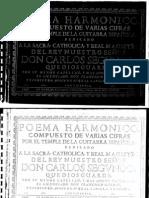 Guerau, Francisco (n.1649)_Poema Harmonico