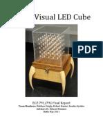 A-V LED Cube Final Report