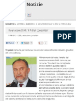 Antonio d'Alì senatore - risultati pdl sicilia