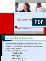 Db2 Training Class 007