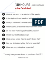 First20hours Deconstruction Worksheets