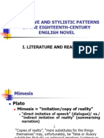 1. Literature and Reality