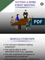 Efficient Meeting