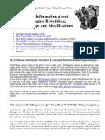 Small Engine Rebuilding Guide