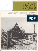 AFV Weapons 54 Japanese Light Tanks