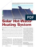 Solar Hot Water Heating System [1]