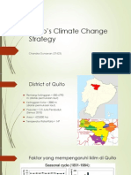 Quito's Climate Change Strategy