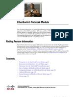 EtherSwitch Network Module
