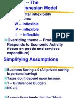 ECN 302-602 (4), The Simple Keynesian Model
