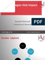 Social Sciences Forum-Screencapture