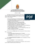 Acta Junta Municipal de Distrito Beiro abril 2013