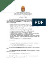 Acta Junta Municipal Distrito Beiro mayo 2013