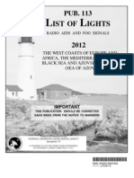 Pub 113bk List of Lights(Africa)