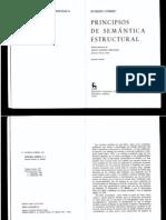 Principios de semantica estructural