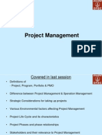 Session II 040911 Project Management 2