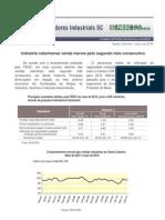 indicadores industriais de sc maio 2010