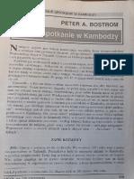 Peter a. Bostrom - Bliskie Spotkanie w Kambodzy