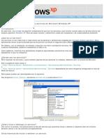 Los Servicios en Windows XP - Introducción