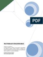 Materiais de Enegenharia - Sinteticos