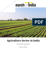 Agriculture Sector in India May 2013