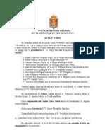 Acta Junta Municipal Distrito Norte abril 2013