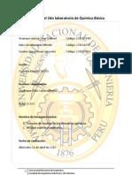 Informe del 2do laboratorio de química básica