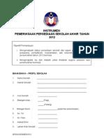 Instrumen Pemantauan Akhir Tahun 2012 BPSH