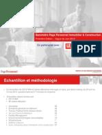 Baromètre Page Personnel Immobilier & Construction juin 2013