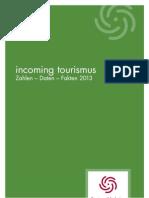 TMN Incoming Tourismus in Niedersachsen 2013