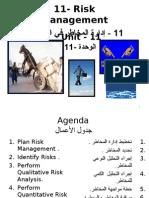 11- Project Risk Management