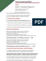 Folheto Do Trido de Santo Antonio (2)