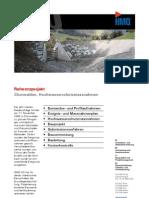 Churwalden GR, Referenzprojekt Hochwasserschutzmassnahmen der HMQ AG