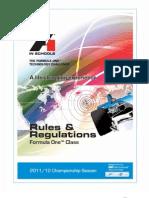 Technical Regulations Rev