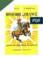 Histoire de France CE2-CM1 Bonifacio-Maréchal Classiques Hachette