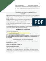 Tema 4. Proceso y Procedimiento. Formas Procesales