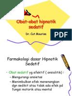 Obat-Obat Hipnotik Sedatif